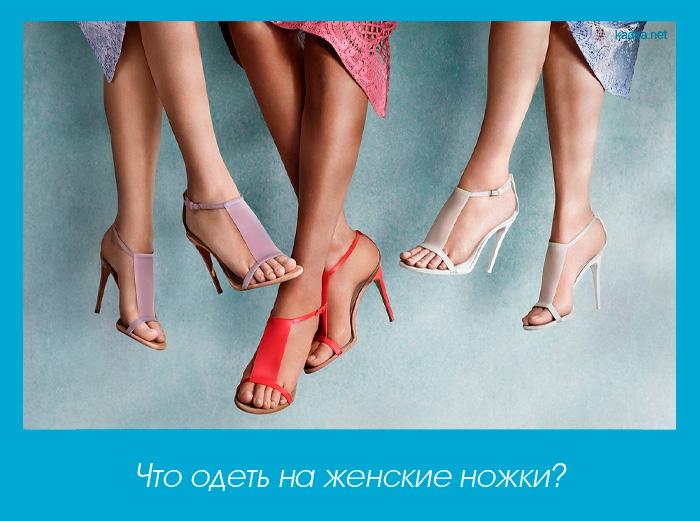 Что одеть на женские ножки?