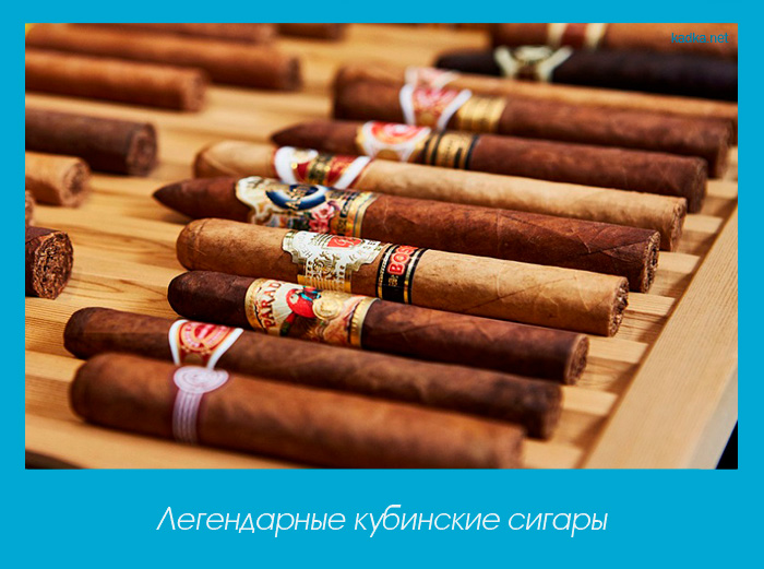 Легендарные кубинские сигары