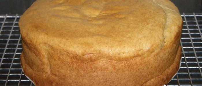 бисквит на варёной сгущёнке